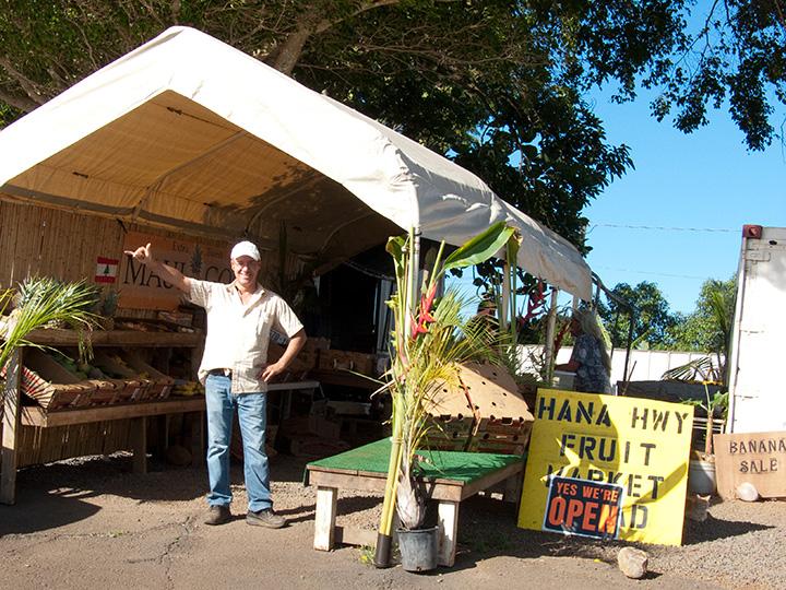 Hana Highway Fruit Market-Haiku Maui