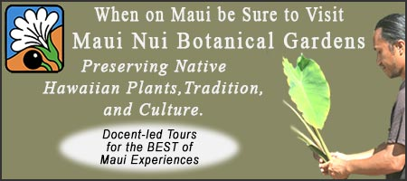 When on Maui be Sure to Visit Maui Nui Botanical Gardens